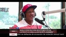 Manolo Ozuna reacciona molesto ante criticas a entrevista de Amelia Alcántara en ¨El Mañanero¨