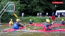 Dinan. Kayak polo : la discipline s'arrime en Rance
