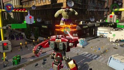 HULK vs Hulkbuster Boss Fight (LEGO Marvel Avengers) Age of Ultron HD