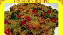 How to Cook the Perfect Couscous - Healthy Couscous Recipe