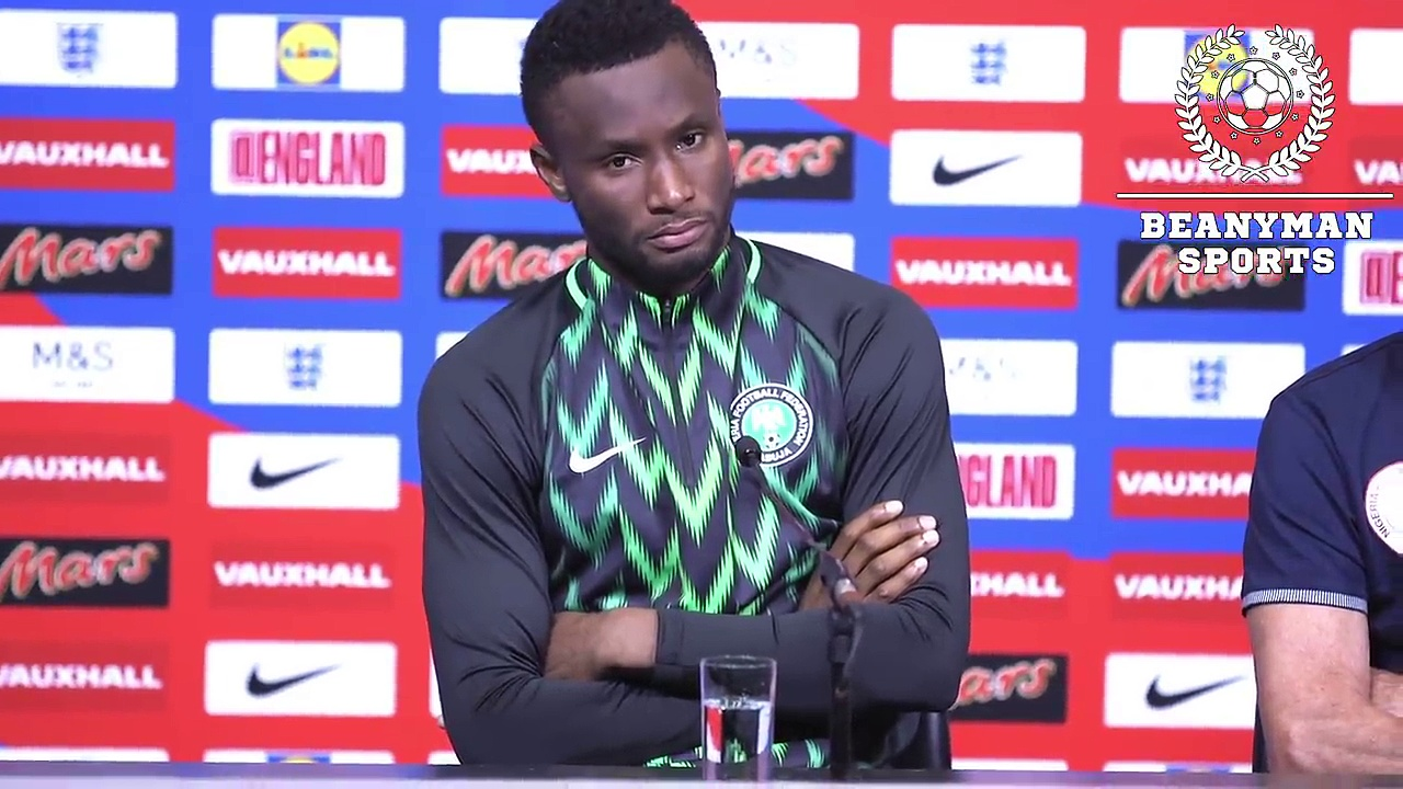 England 2-1 Nigeria – Gernot Rohr & John Obi Mikel Post Match Press Conference -On Defeat To England
