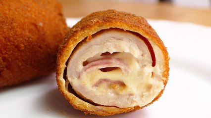 CHICKEN CORDON BLEU - Food & cooking: Easy recipe videos