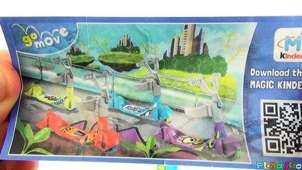 Миньоны киндер сюрприз распаковка игрушек Minions Kinder Surprise toys