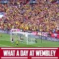 May 30, 2015 Wembley Stadium The Emirates FA Cup final Arsenal 4-0 Aston Villa FC⚽️ Theo Walcott (40), Alexis Sanchez (50), Per Mertesacker (62), Olivi