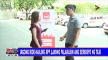 Bagong ride-hailing app, layong palakasin ang serbisyo ng taxi