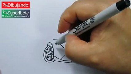 Cómo Dibujar Un Lamborghini - How To Draw a Lamborghini | Dibujando