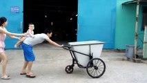 Nhà cung cấp xe thu gom rác 400 lít, 500 lít bằng tôn giá rẻ tại Hà Nội, tpHCM và trên toàn quốc