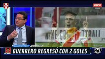 "ARGENTINOS E ITALIANO FELICES POR 2 GOLES DE GUERRERO | ""NO QUISIERA ENFRENTARME A PERÚ EN 8VOS"""