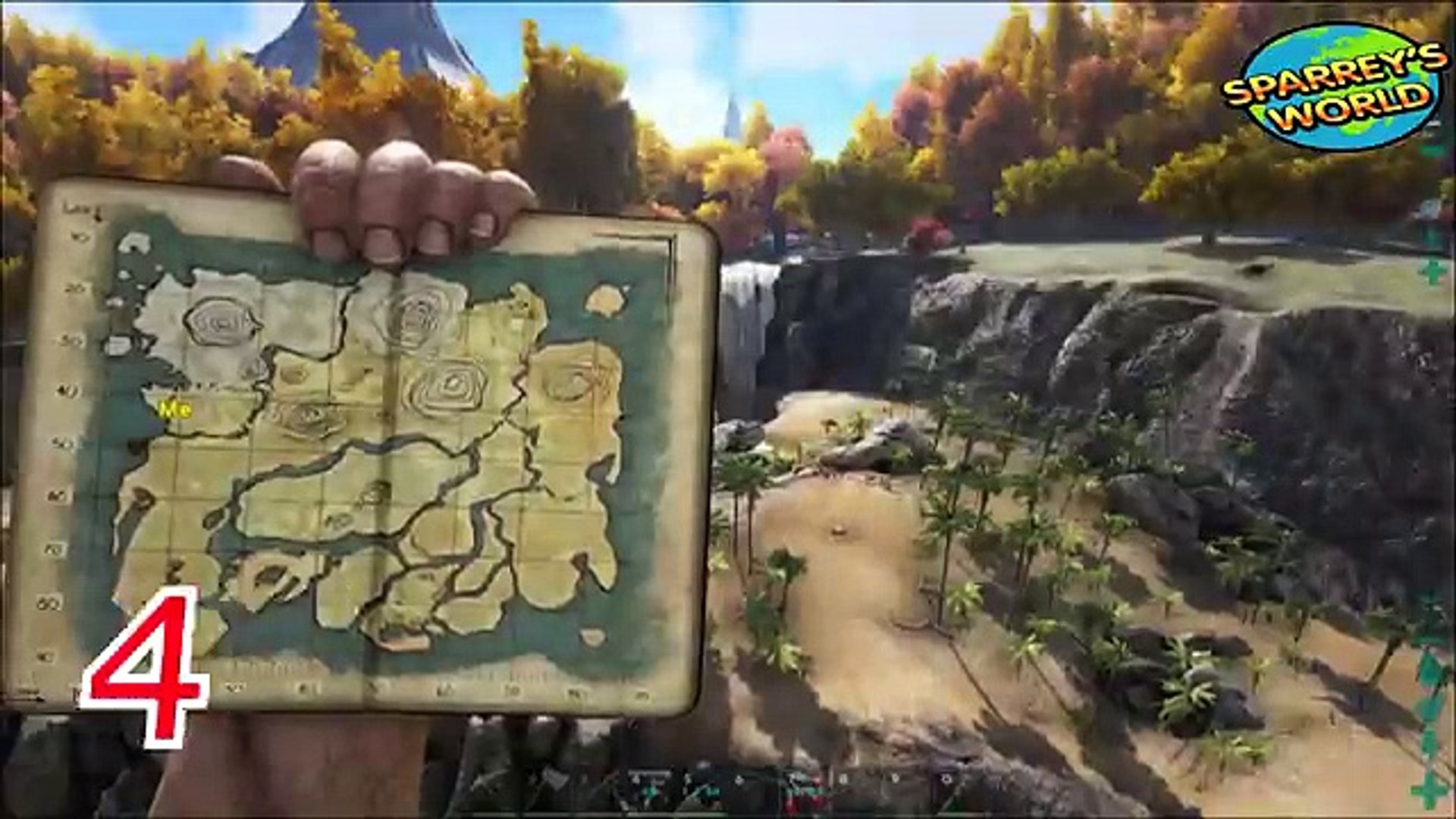 Ark Survival evolved - Top 5 base locations PVE - The Island