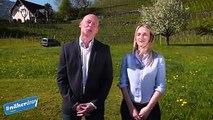 Nicht vergessen! #näherdran Vaterland-Stamm im Falknis mit den Talk-Gästen Vorsteher Hansjörg Büchel, Kenny Vogt (Private Wetterstation Balzers), Caroline Spr