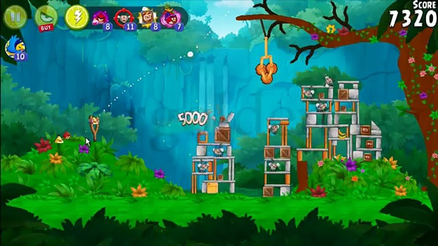Angry Birds Rio Timber Tumble All Golden Gear by 3stargoldenegg