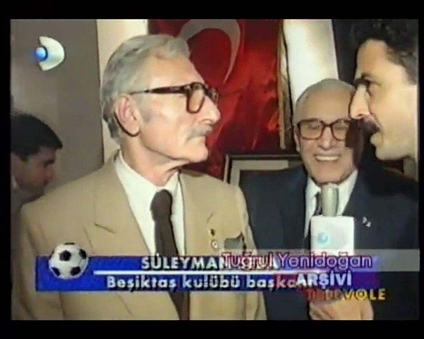 1994-95 Sezonu Şampiyonu Beşiktaş'ın Şampiyonluk Resepsiyonu Görüntüleri/1994-95 Season Champio