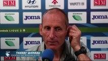 Après HAC - Amiens SC (4-0), réaction de Thierry Uvenard