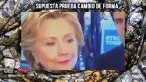 ¿HILARY CLINTON CAMBIA SUS OJOS DE FORMA EN VIVO (REPTILIANA)? 4 DE OCTUBRE DE 2016 (EXPLICACIÓN)