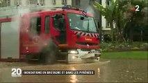EN DIRECT - Orages violents : Météo France vient de placer 16 départements de l'Ouest et de l'Est en alerte orange