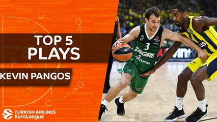 Top 5 plays, Kevin Pangos, All-EuroLeague Second Team