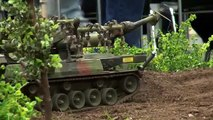 RC TANKS - RC Military Flail Tank - KEILER - Military Vehicles in Action - BW - minefield