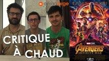 Avengers Infinity War - Critique à Chaud