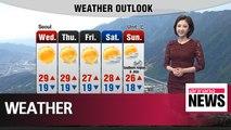 Cloudy nationwide tomorrow, while south receives rain _ 060418