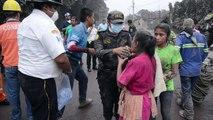 فرق الإنقاذ في غواتيمالا تواصل البحث عن ناجين بعد ثوران بركان فويغو