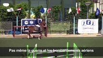 Yémen: un concours d'équitation, malgré la guerre