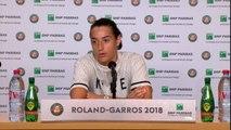 """Roland-Garros - Garcia: """"Je n'étais pas dedans"""""""