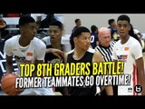 Emoni Bates vs Ty Rodgers! Top Middle Schoolers! Former Teammates Go To Overtime! Full Highlights!