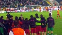 Gomis'in Penaltı Kaçırmasına Fatih Terim Tepkisi/Fatih Terim Reaction to Gomis Penalty Abduction