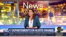 Orages: 17 départements placés en alerte orange