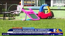 Great-Grandmother Shot While Protecting Children from Nearby Shooting