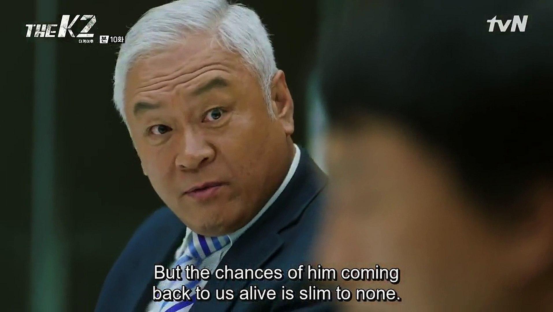 [tvN] THE K2 E10 subbed part 2