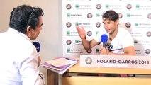 """""""Merci à tout le monde"""" : Rafael Nadal s'exprime en français sur Europe 1"""