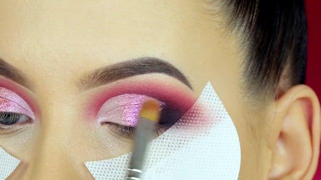 Rose Gold Smokey Eyes Makeup Tutorial