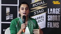 Chit Chat With Taapsee Pannu  NITISHASTRA  Royal Stag Barrel Select Large Short Films