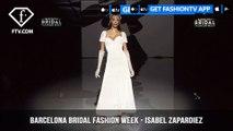Isabel Zapardiez Art of Fencing Collection at Barcelona Bridal Fashion Week Part 2 | FashionTV | FTV