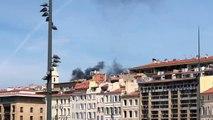 Marseille : fausse alerte dans le Panier, les fumées noires proviendraient d'un bateau