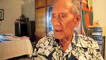 Commémoration ce jeudi soir à 18h30 au quai d'honneur à Papeete - Maxime Aubry, un des derniers Tamari'i volontaire. 75 ans après, il chante le Monowai, navire