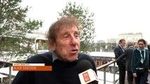Alain Souchon à Roland-Garros