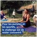 Le Yoga Chèvre s'importe en France grâce à une Niçoise