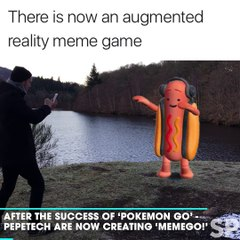 There Is Now An Augmented Reality Meme Game