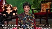 BOMBA CONTRA PATI CHAPOY -TELEVISA HUNDIDA -WOODSIDE  AZTECA