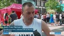Hôpital psychiatrique du Rouvray : deux salariés en grève de la faim hospitalisés en urgence