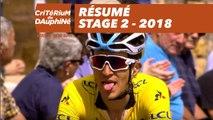Résumé - Étape 2 (Montbrison / Belleville) - Critérium du Dauphiné 2018