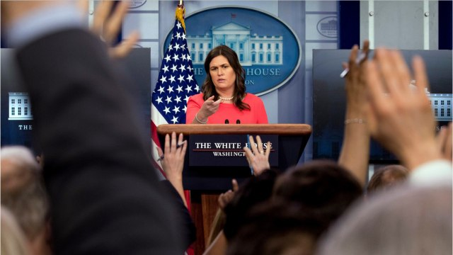 Sarah Huckabee Sanders Grilled Over Trump Cancelling Eagles White House Visit