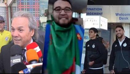 Portugal-Algérie : L'équipe nationale est arrivée à Lisbonne