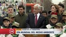 """Presidente Piñera y normativa contra bolsas plásticas: """"Chile está dando una muestra de ser un país maduro y responsable"""""""