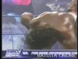 Batista & bobby lashley & john cena vs booker t & .. part 2