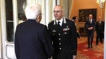 """Mattarella riceve l'Arma dei Carabinieri: """"204 anni sono tanti"""""""