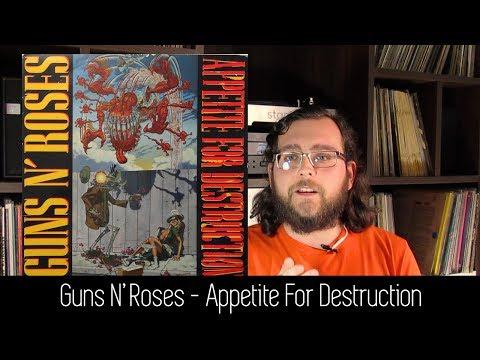 Guns N' Roses – Appetite For Destruction   ALBUM REVIEW