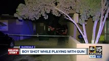 Teen shot after accidentally shooting himself with mom's gun